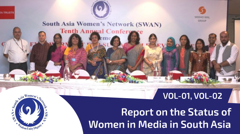 Report on Status of women in media in South Asia